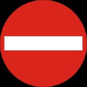 Indkørsel forbudt