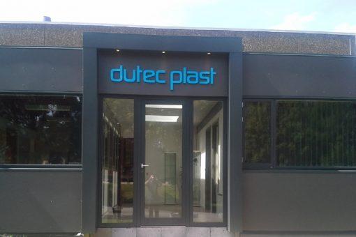 Dutec Plast facadebogstaver