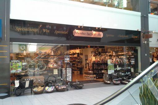 Mundus Kaffe facadebogstaver