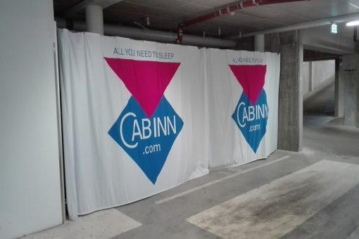 Bannerreklamer Cabb-Inn