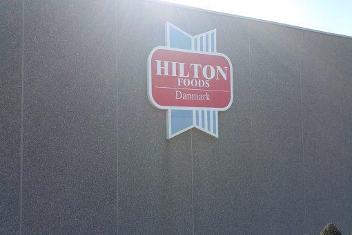 Facadeskilte Hilton Foods