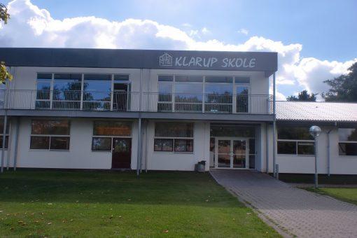 Facadeskilte Klarup Skole