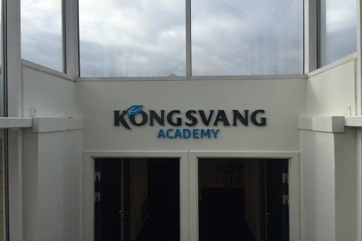 Facadebogstaver Kongsvang