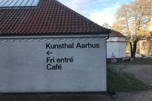 Facadebogstaver Kunsthal Aarhus