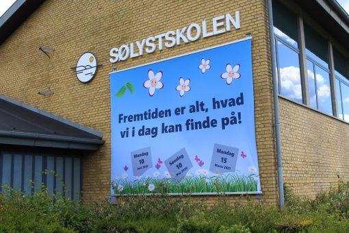 Bannerreklamer Sølystskolen