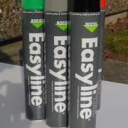Stribemaling easyline på dåse