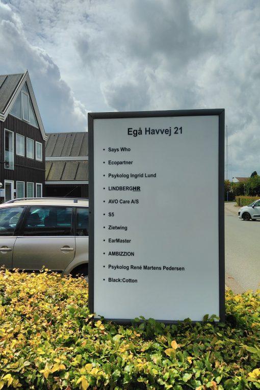 Egå Havvej pyloner oversigtsplaner