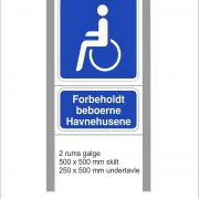 Handicapskilte