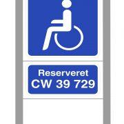 Handicap skilte