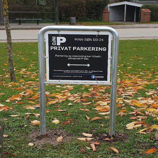 Parkerings skilte