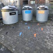 Decomark fodspor til affaldssortering