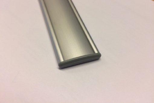 Dørprofil til dymo Vista alu buet model med ender