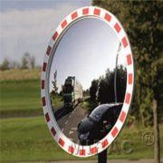 Trafikspejle rundt m/kant